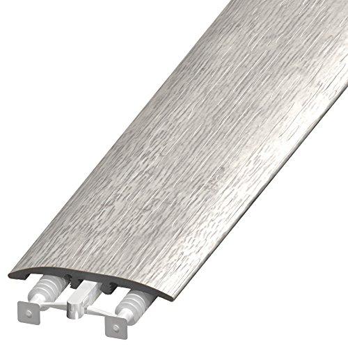 CalFlor MD11111 UniTrim Waterproof 3-in1 Floor Molding, 1 Pack, Light Gray