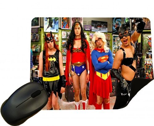 Eclipse Gift Ideas Big Bang Theory Costumes Mouse Mat - Comedy Tv Show - Mouse Pad (Tv Costume Ideas)
