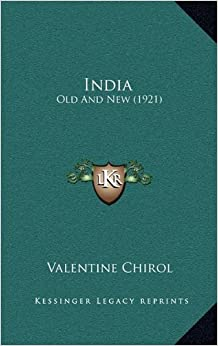 India: Old And New (1921)