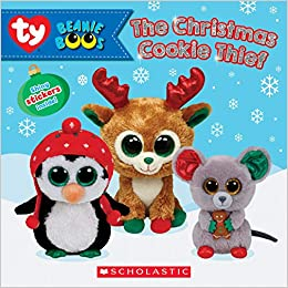 814d11a12d8 The Christmas Cookie Thief (Beanie Boos  Storybook with stickers)  Meredith  Rusu  9781338256208  Amazon.com  Books