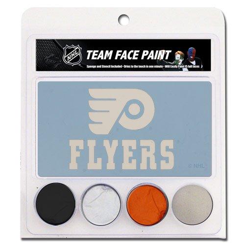 Philadelphia Flyers Face Paint