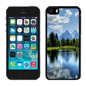 Customized Phone Case Design with Forest Lake iPhone 5C Wallpaper