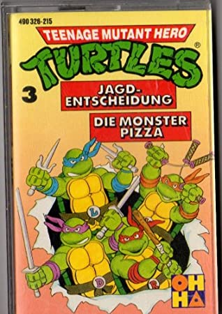 MC KassetteTeenage Mutant Ninja Turtles # 3 Die Monsterpizza ...