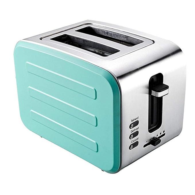 Jsmhh Tostadora, máquina de Acero Inoxidable Desayuno, Casa 2 ...