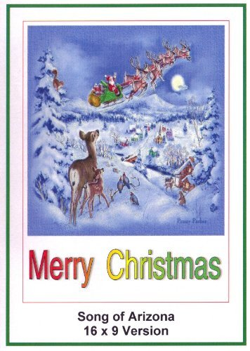 Song of Arizona:16x9 Widescreen TV.: Greeting Card:Merry Christmas by Roy Roger