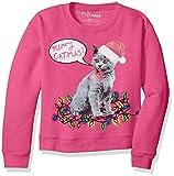 Hanes Girls Ugly Christmas Sweatshirt