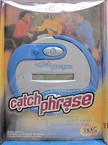 Hasbro CATCH PHRASE Electronic WORD GAME - Game of 10,000 Words & a Million Laughs! (2000) - Adult Barbie Wig