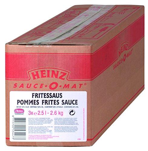 Heinz Frites Sauce, Beutelware für Dispenser, 1er Pack (1 x 7.5 l)