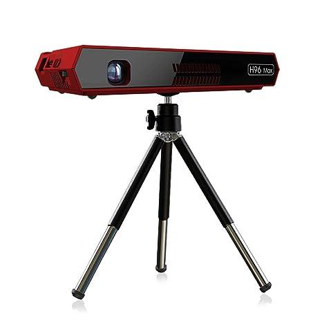 Mini proyector, proyector DLP inalámbrico portátil para películas ...