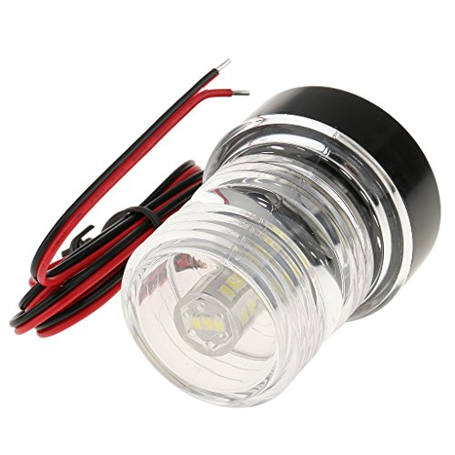 Dolity 360° 12V White NAV Anchor LED Bulb Boat Anchor Navigation Light with Cable by Dolity (Image #3)