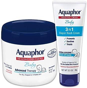 Aquaphor Baby Skin Care Set: 14oz Jar & 3.5oz Tube