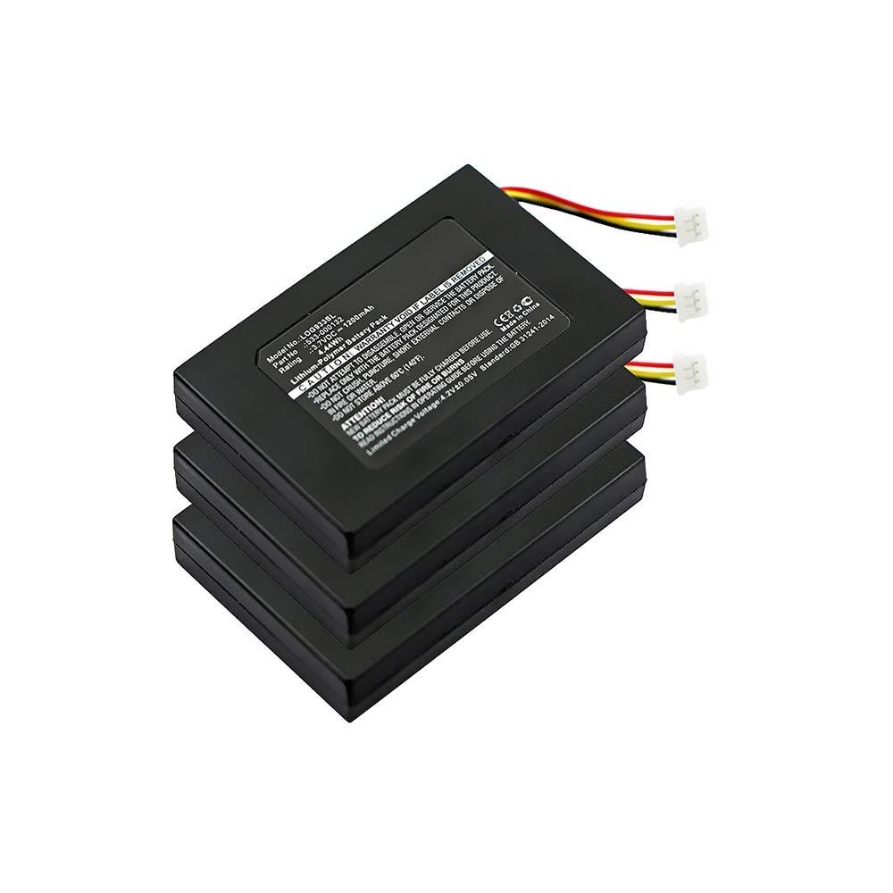 subtel 2X Batería Premium para Logitech G533, Logitech G933 (1200mAh) 533-000132 bateria de Repuesto, Pila reemplazo, sustitución: Amazon.es: Electrónica