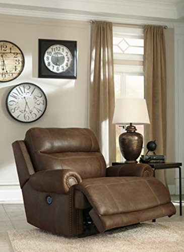 zero click seat sd ashley product wall furniture wide enlarge oversized box mocha with recliner hogan to