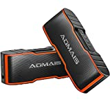[2-Pack] AOMAIS Sport II Mini Portable Bluetooth Speakers - Wireless Dual Stereo Pairing, HD Sound and Enhanced Bass, 15 Hours Playtime, IPX5 Water-Resistant Speakers for Travel, Beach, Shower