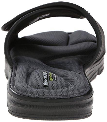 Skechers Vento Black diapositive Swell Sandalo Sport Y4qrTY
