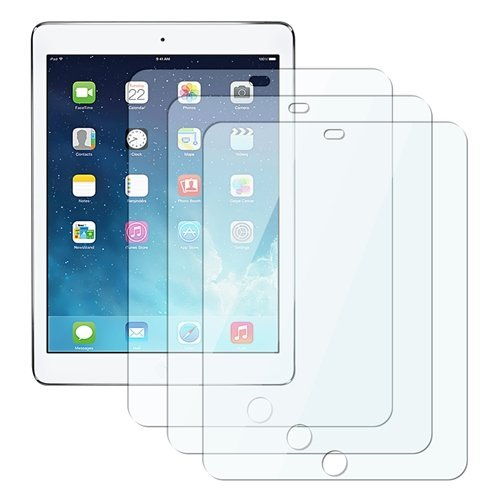 - eTECH Collection 3 Pack of Clear Screen Protector for Apple iPad Air/iPad Air 2 (fits Both iPad Air and iPad Air 2nd Generation) with Retina Display - from USA