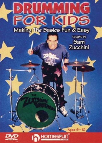 Drumming for Kids - Making the Basics Fun & Easy - Instructional/Drum/DVD ()