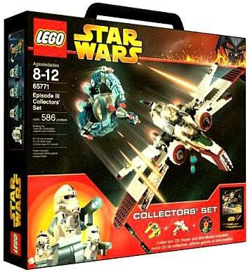 Amazoncom Lego Star Wars Episode Iii Collectors Set 65771 Toys