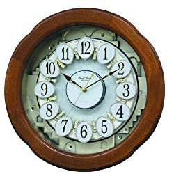Rhythm Magic Motion Musical Clock - Angel Blossom II - (Micro Fiber Cloth Incl.)
