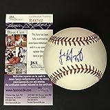Autographed/Signed Jake Arrieta Rawlings Official Major League Baseball ROML JSA COA Auto