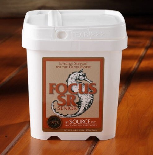 Focus 3.5 lb SR Senior Equine Supplement to Help Maintain Weight, Energy and Good Overall Health by Source INC. (Image #1)