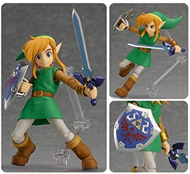 The Legend of Zelda: A Link Between Worlds Link Figma Action Figure by Zelda: Amazon.es: Juguetes y juegos