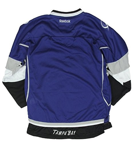 e6fd041c2 Tampa Bay Lightning NHL Big Boys Youth Premier Alternate Jersey, Blue,  Clothing - Amazon Canada
