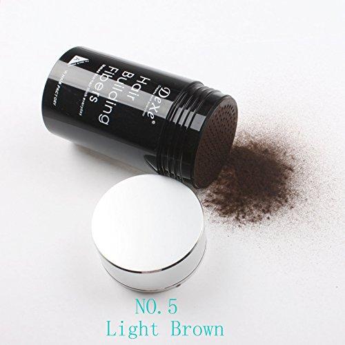 Dexe Hair Building Fibers 22g , light brown