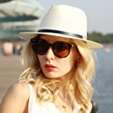 Straw Hats Beach Cap Summer Floppy Wide Brim Sun
