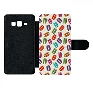Etui Macarons stylé Compatible Galaxy Grand Prime