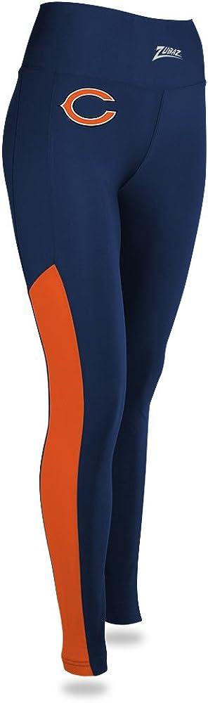 NFL Zubaz Womens Solid Leggings