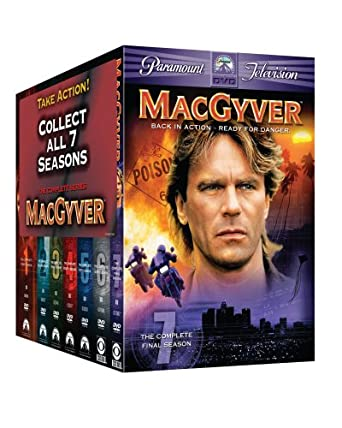 Macgyver: Complete Series Pack Gift Set [USA] [DVD]: Amazon.es ...