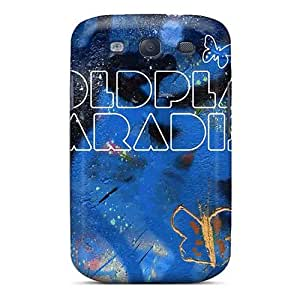 Samsung Galaxy S3 XTn11642KYTS Support Personal Customs Realistic Coldplay Band Image Shock Absorption Hard Phone Case -JonBradica