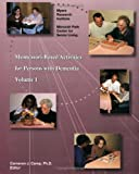 Montessori Based Activities for Persons with Dementia, Cameron Camp  Ph.D., Cameron J. Camp  Ph.D., 0967634318