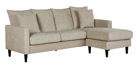FlexLiving DL039SEC-BG Sofa, Beige