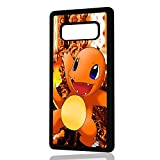 pokemon protective phone case - ( For Samsung Note 8 , Galaxy Note 8 ) Durable Protective Soft Back Case Phone Cover - A11386 Pokemon Charmander