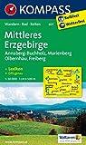 Mittleres Erzgebirge: Wanderkarte mit Kurzführer, Rad - und Reitwegen. GPS-genau. 1:50000 (KOMPASS-Wanderkarten, Band 807)
