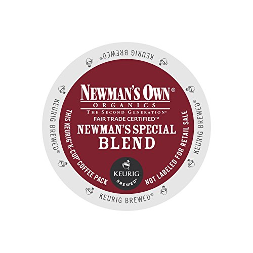 Newman's Own Organics Special Blend, Keurig K-Cups, 72 Count (Keurig Organic Coffee K Cups compare prices)