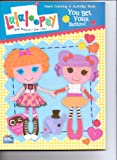 lalaloopsy coloring book - Lalaloopsy Giant Coloring & Activity Book ~ You Bet Your Button