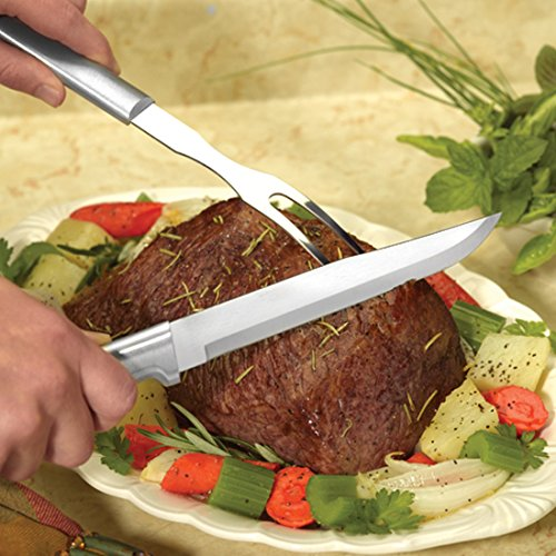 Rada Cutlery Meat Lover's 8-Piece Steak Knife Gift Set – Stainless Steel Blades With Aluminum Handles by Rada Cutlery (Image #4)