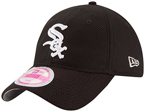 MLB Chicago White Sox Women's Tech Essential De 9Twenty Adjustable Cap, One Size, - Hats Sox Womens