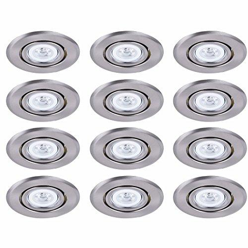 Elitco Lighting R4-489BN-12PK recessed-Light-Fixture-Trims 4