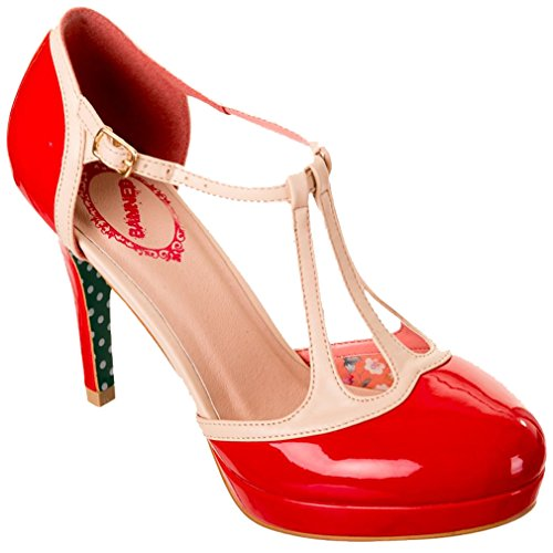Dancing Days High Heel Pumps - Betty Rot Rot
