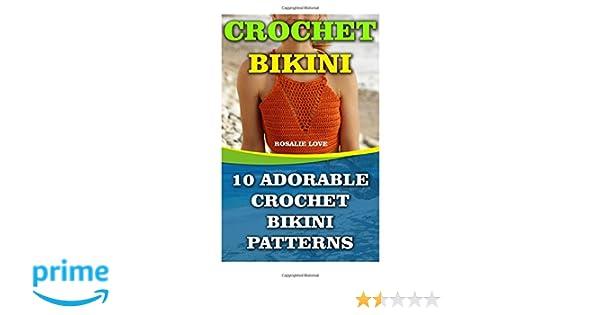Crochet Bikini 10 Adorable Crochet Bikini Patterns Rosalie Love
