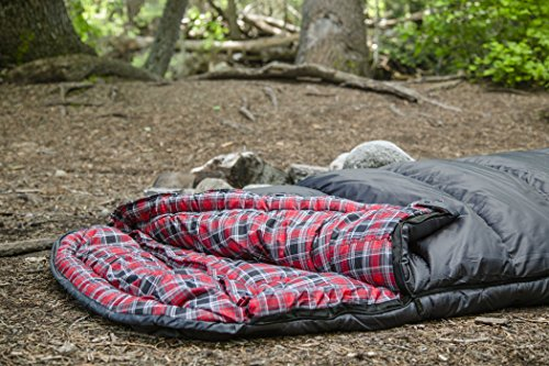 TETON Sports Celsius XXL Sleeping Bag; Great for Family Camping; Free Compression Sack 7 COMFORTABLE SLEEPING BAG FOR ADULTS: Soft lining; Half-circle mummy style hood keeps you warm and your pillow clean; Unzips at the top or bottom for easy access and ventilation; For camping in 3 seasons NEVER ROLL YOUR SLEEPING BAG AGAIN: TETON provides a great compression sack for stuffing your sleeping bag; Start at the bottom and stuff the bag in, then tighten the heavy-duty straps STAY WARM IN COLD WEATHER: You'll be warm and rested in this sleeping bag; Innovative fiber fill, double-layer construction and draft tubes work together to keep the warmth in