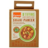 Eastern Tiffins Just Heat and Eat Shahi Paneer(Cottage Cheease in Creamy Curry Medium spiced royal delicacy cottage cheese cubes with rich gravy from North India, 100% natural 300Gram (10.6 Oz)