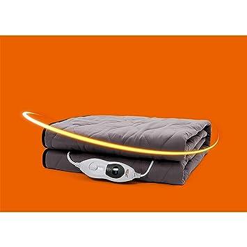 Manta Eléctrica Individual Comfort Premium: Control con 3 Configuraciones De Calor, Poliéster, Blanco