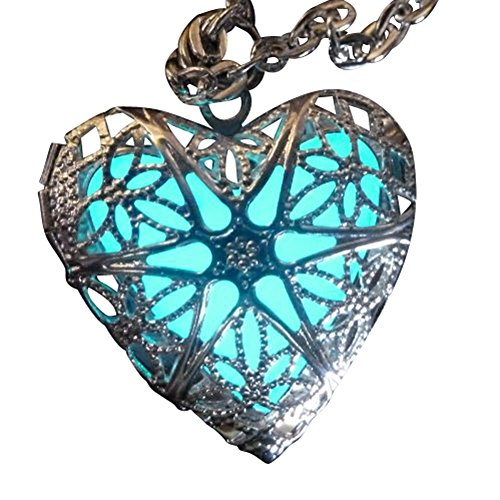 Steampunk+Fairy+Magical+Fairy+Glow+in+the+Dark+Necklace-aqua-sil+by+UmbrellaLaboratory
