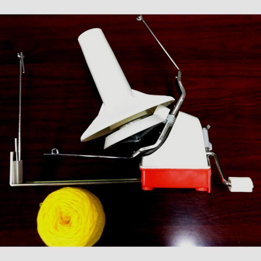 Sanmubo Yarn Winding Machine Yarn Ball Winder Hand Operated Ball Winder Holder Knitting Tool by Sanmubo (Image #2)