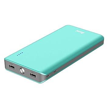 BONAI Batería Externa para Móvil 20000mAh [Universal, Doble Puerto/Salida 2.4A] Banco de Potencia Cargador Bateria Portatil - (con 2 Micro Cables) - ...